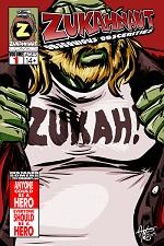 Zukahnaut Issue 1